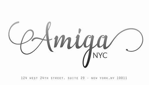 Amiga NYC Hair Salon Logo