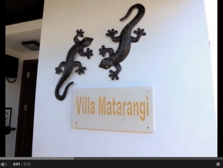 Villa Matarangi video walk through