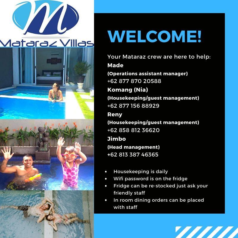 Mataraz welcome