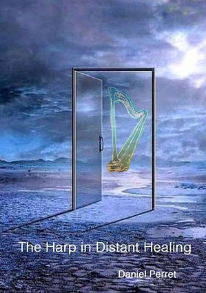 The Harp in Distant Healing Cover BoD Li