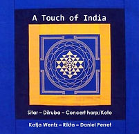 CD cover 'A Touch of India'