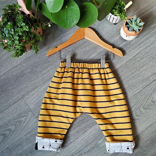 Pantalon Réversible Sarouel