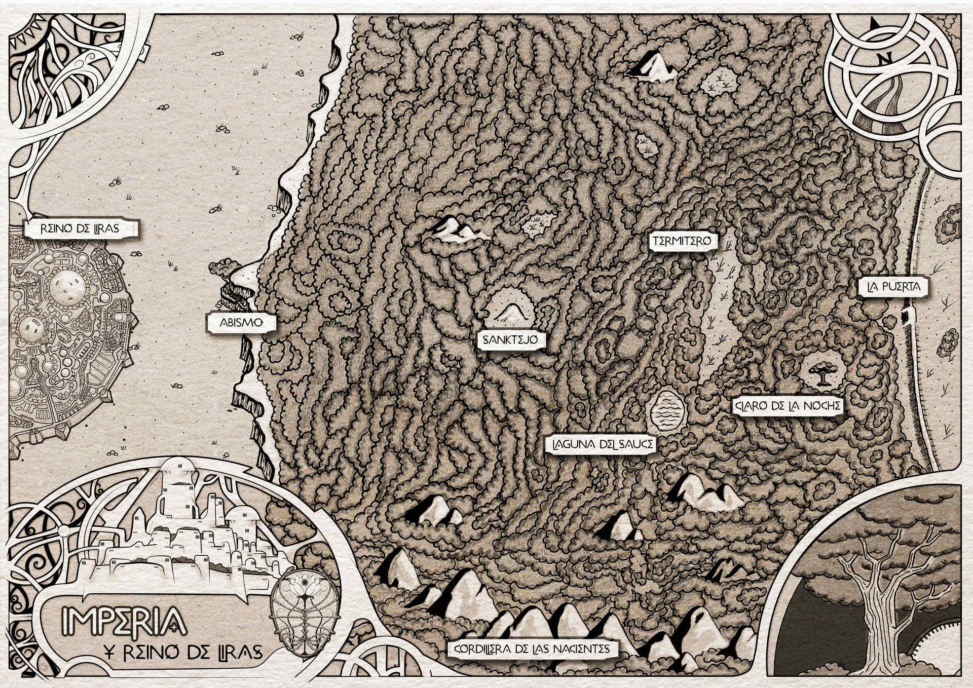 Mapa de Imperia los Predestinados