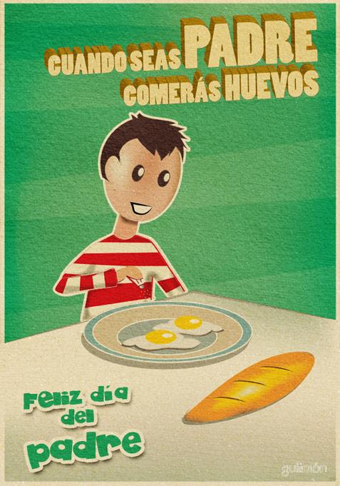 Cartel Día padre