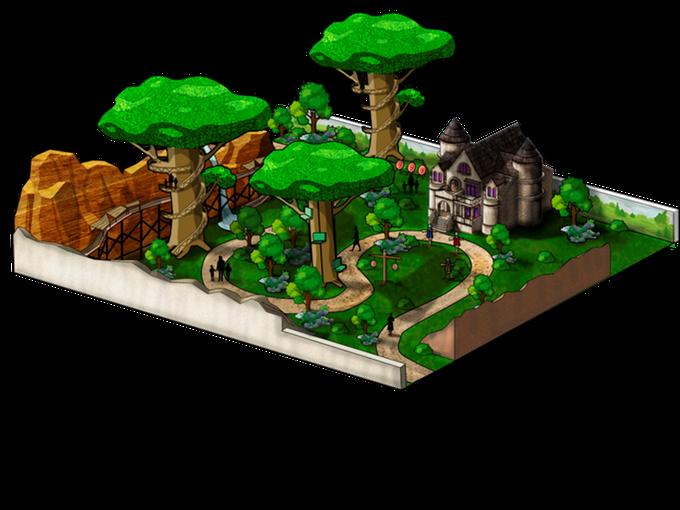 Parque de Atracciones: Bosque embrujado