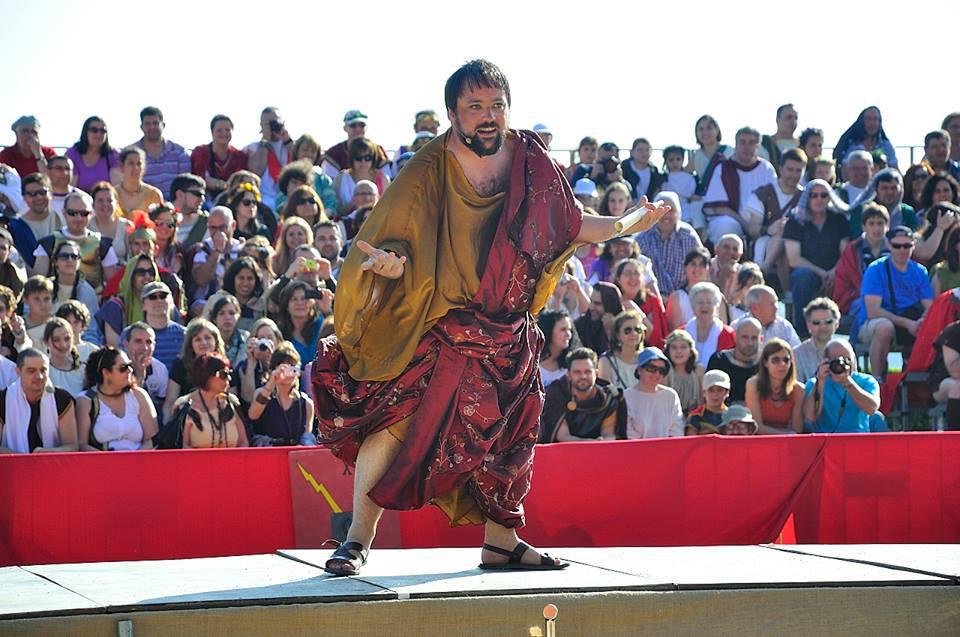 Narrador Circo Romano