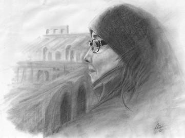 Mónica en el Coliseo