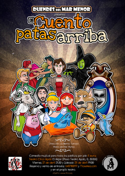 Cartel Duendes Patas arriba_Web