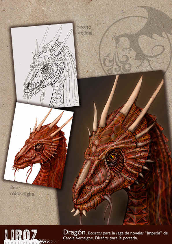 Proceso de diseño del Dragón