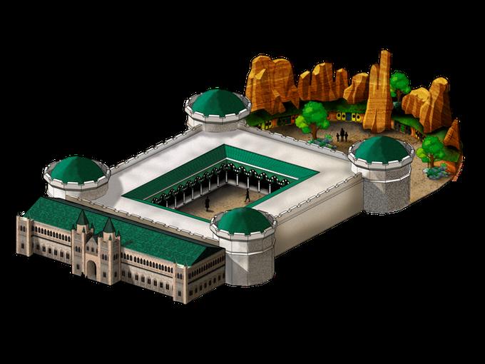 Parque de Atracciones: Fortaleza de la Guardia Y mina de los Enanos