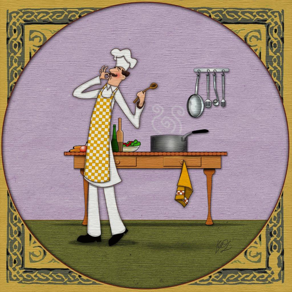 Cocinero delgado