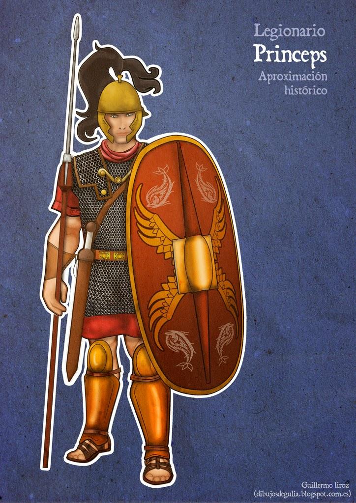 Legionarios Romanos