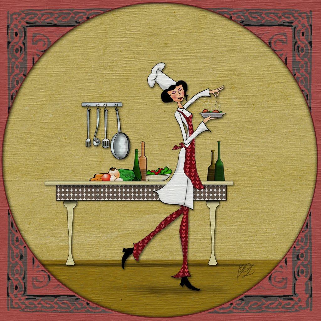 Cocinera delgada