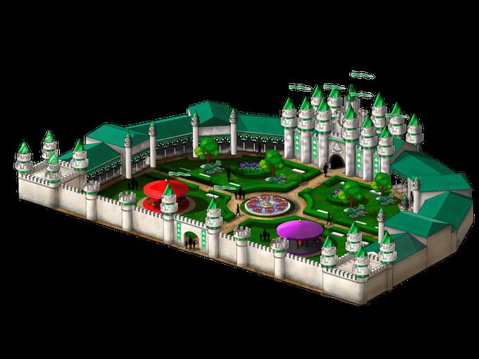 Parque de Atracciones: Castillo de Blancanieves