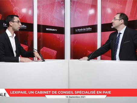 LexiPaie invité par Le Monde du Chiffre
