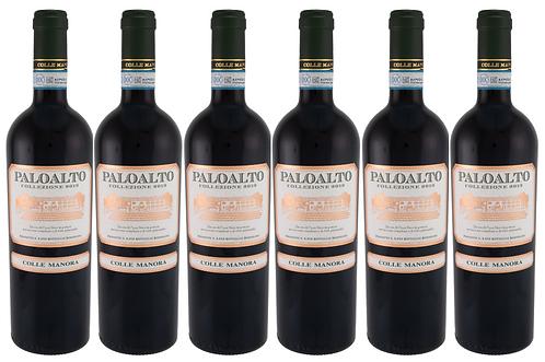 PALOALTO - PINOT NERO 2015 0.75L - 6 bottles - Colle Manora - 24,7€/bottle