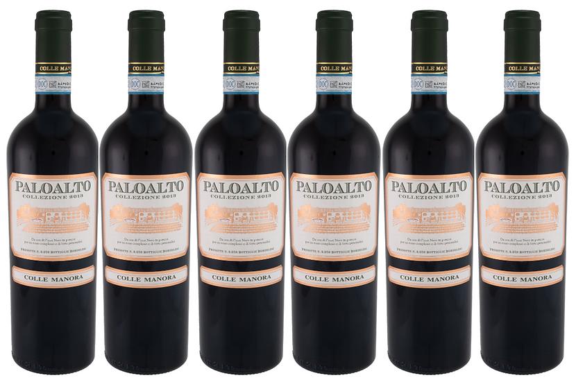 PALOALTO - PINOT NERO 2015 0.75L - 6 bottles - Colle Manora - 22,50€/bottle
