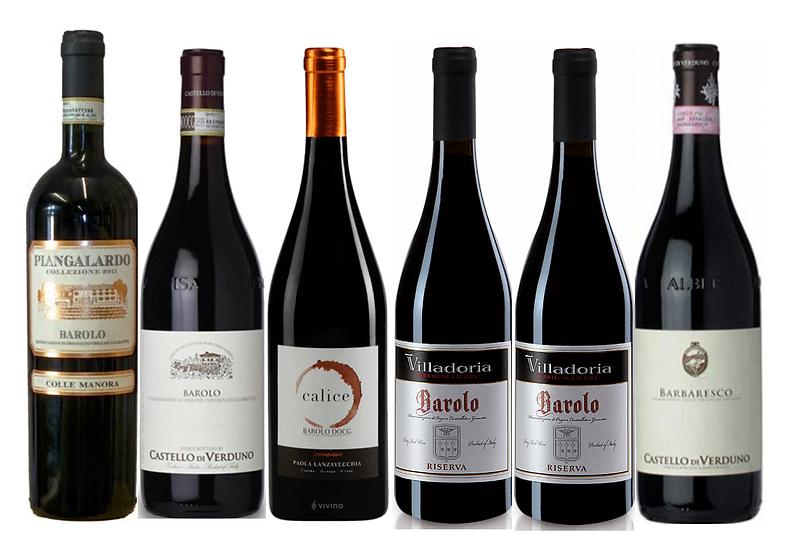 THE BAROLO & BARBARESCO DISCOVERY BOX -  6 bottles