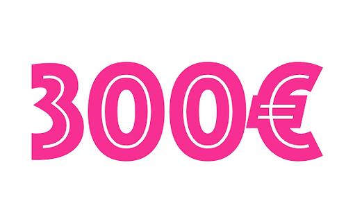 300€ VOUCHER