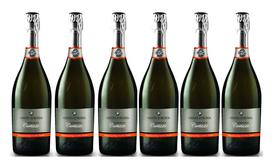 CARTIZZE DOCG -  2018 0.75L - 6 bottles -Santaeurosia -18,83€/bottle