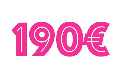 190€ VOUCHER