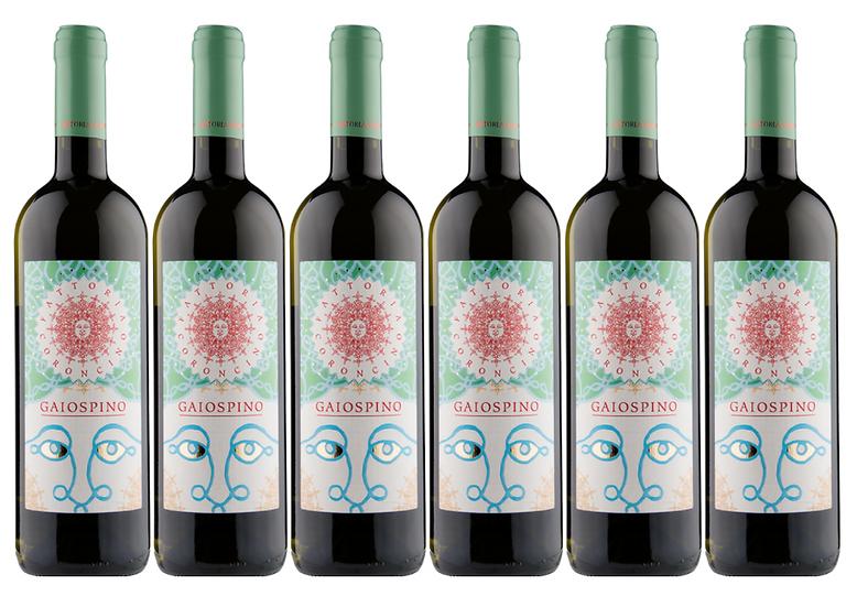 GAIOSPINO VERDICCHIO JESI 2015 0.75L -20,67€/bottle - 6 bottles - Coroncino