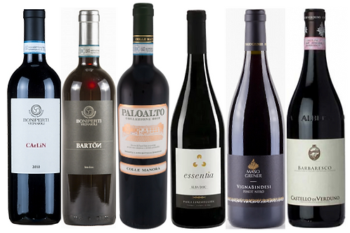 THE NEBBIOLO-PINOT-NOIR DISCOVERY BOX -  6 bottles
