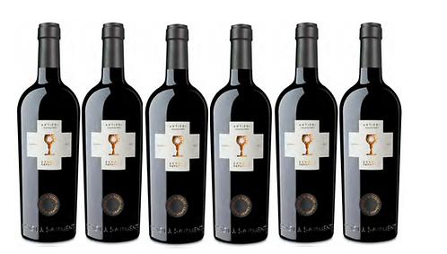 ANTIERI SUSUMANIELLO 2017 0.75L - 6 bottles - Schola Sarmenti -16.7€/bottle