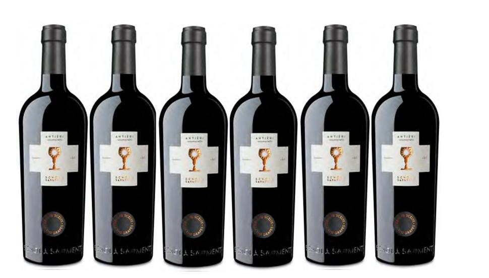 ANTIERI SUSSUMANIELLO 2017 0.75L - 6 bottles - Schola Sarmenti -16.7€/bottle