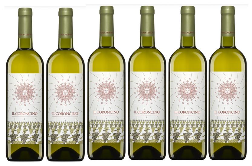 Il CORONCINO VERDICCHIO JESI 2016 0.75L - 1 bottle - Il Coroncino -13,5€/bottle
