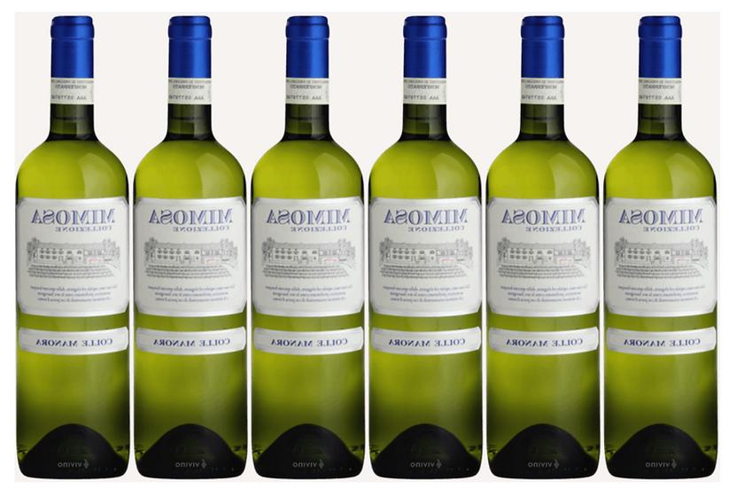 MIMOSA - Sauvignon blanc 2017 0.75L - 6 bottle - Colle Manora -10,67€/bottle