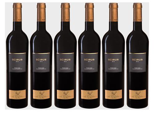 SCIRUS SUPERTUSCAN -  2013 0.75L - 6 bottles - Le Sorgenti -32.7€/bottle