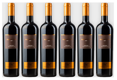 GAIACCIA -  2008 0.75L - 6 bottles - Le Sorgenti -27.7€/bottle7