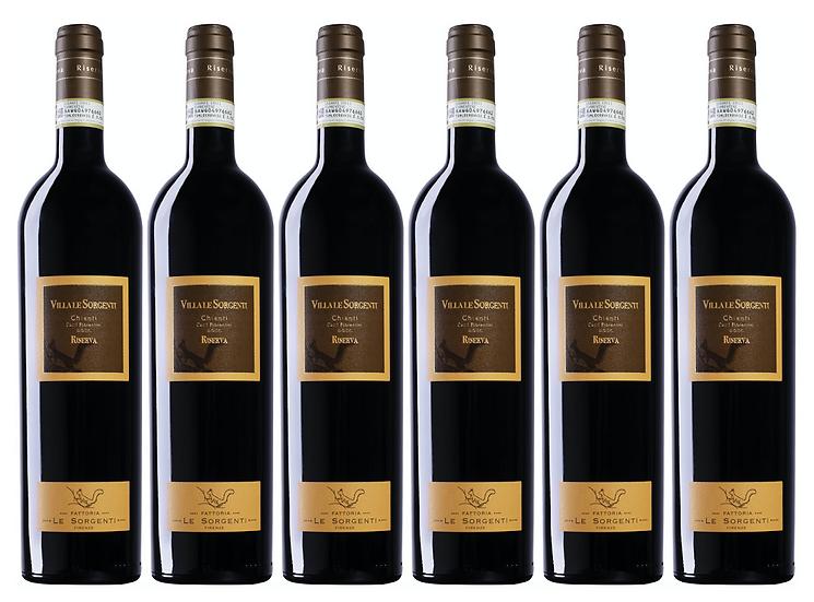 VILLA LE S. CHIANTI RISERVA -  2015 0.75L - 6 bottles - Le Sorgenti - 36€/bottle