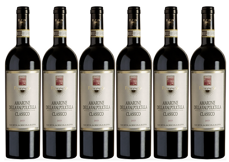 PIOVESOLE AMARONE -  2015 0.75L - 6 bottles - Eleva - 38.5€/bottle