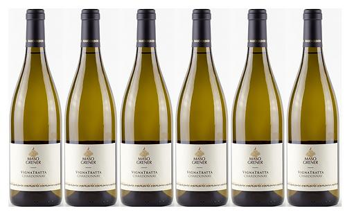 VIGNATRATTA CHARDONNAY -  2018 0.75L - 1 bottle - Maso Grener 15.8€/bottle