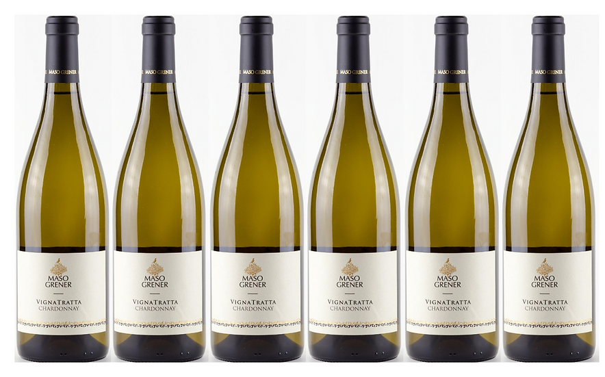 VIGNATRATTA CHARDONNAY -  2018 0.75L - 1 bottle - Maso Grener 14,34€/bottle