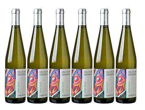 VIGNE BASSE -  2018 0.75L - 6 bottles - TERENZUOLA - 12.8€/bottle