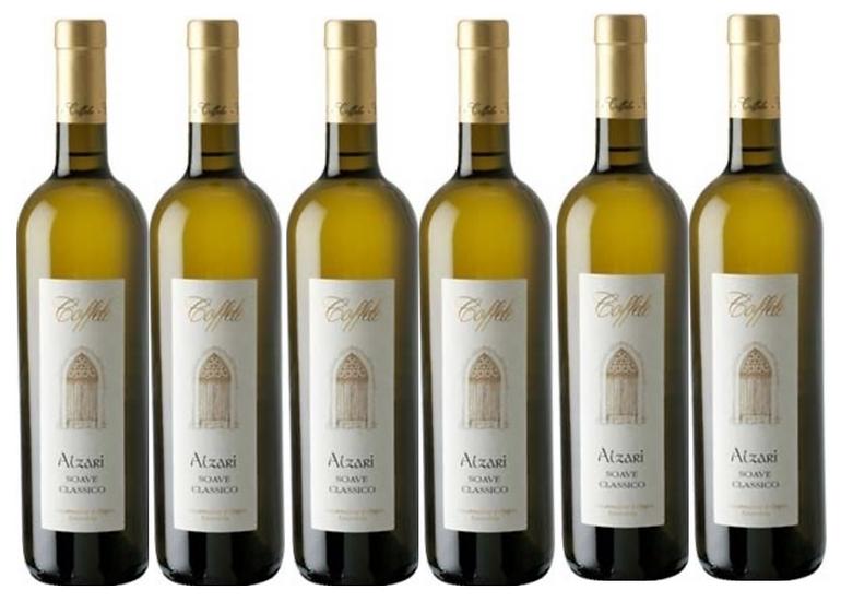 ALZARI  SOAVE -  2018 0.75L - 6 bottles - Coffele - 15,17€/bottle