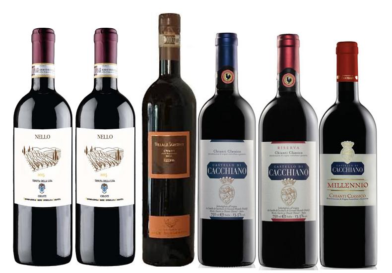 THE CHIANTI  DISCOVERY BOX -  6 bottles