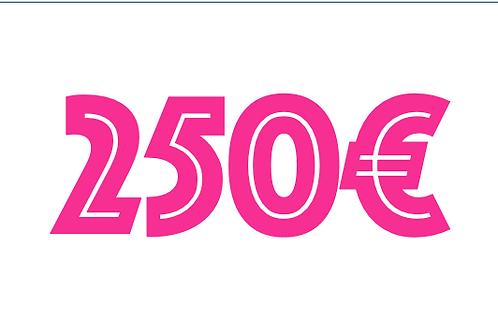 250€ VOUCHER