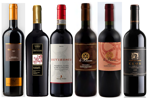 THE SANGIOVESE  DISCOVERY BOX -  6 bottles