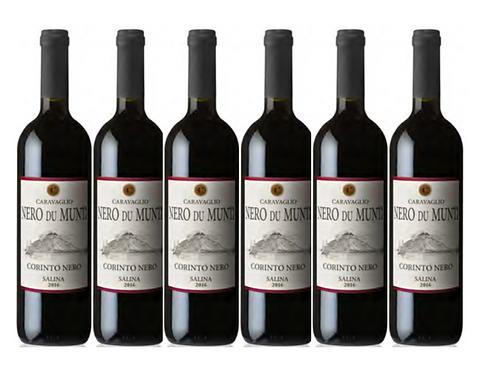 NERO DU MUNTI 2017 0.75L - 6 bottles - CARAVAGLIO -14.8€/bottle