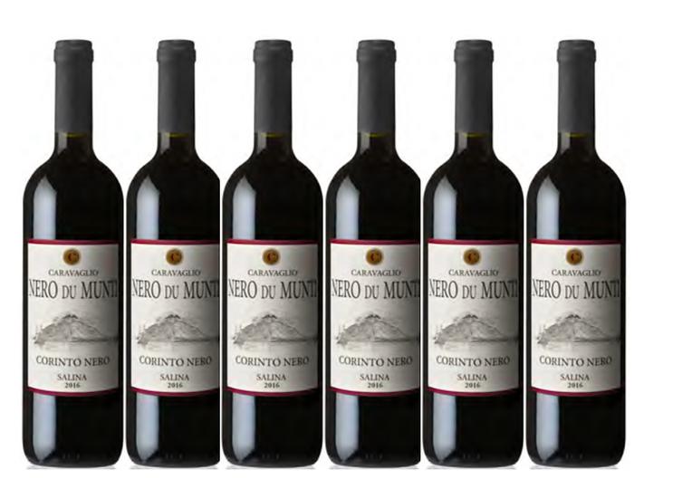 NERO DU MUNTI 2017 0.75L - 6 bottles - CARAVAGLIO -13,5€/bottle