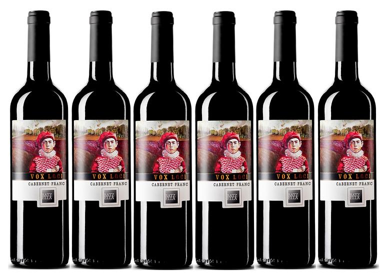 VOX LOCI CABERNET FRANC 2015 0.75L - 6 bottles - Batzella -27€/bottle