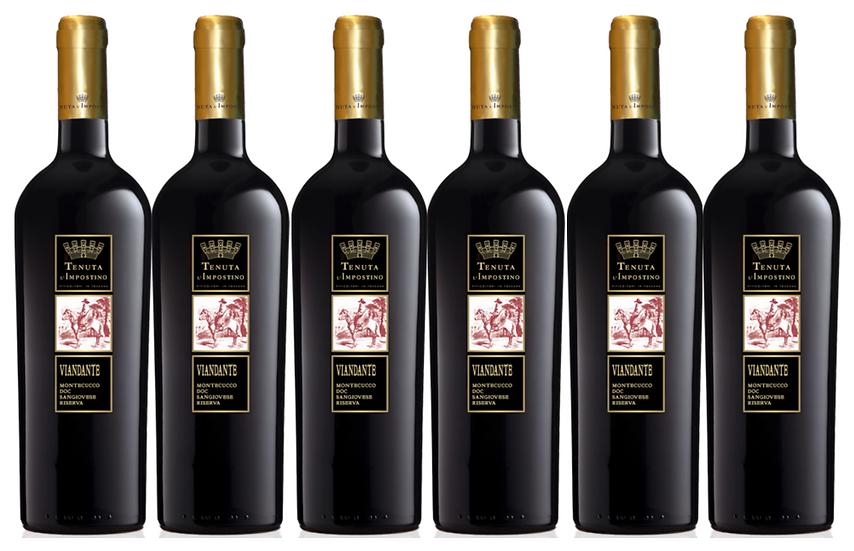 VIANDANTE RISERVA -  2011 0.75L - 6 bottles - L'Impostino - 21,5€/bottle