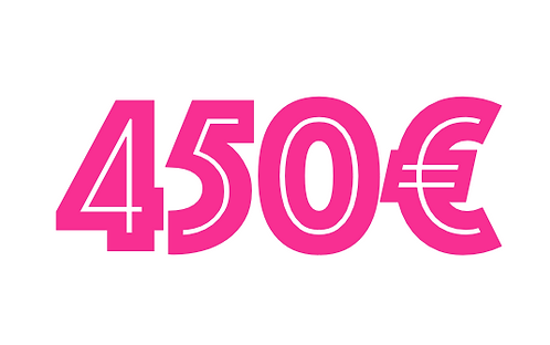 450€ VOUCHER