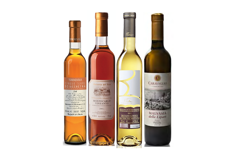 THE SWEET WINES DISCOVERY BOX -  4 bottles