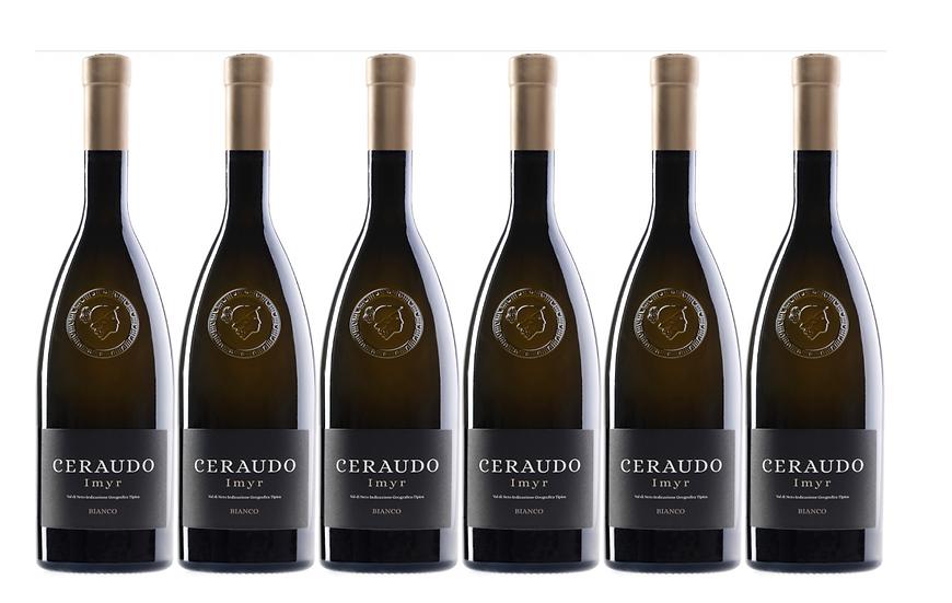 IMYR CHARDONNAY 2018 0.75L - 6 bottles - CERAUDO 23.7€/bottle