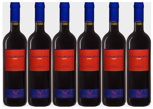 CODAROSSA MALBEC -  2017 0.75L - 6 bottles - Le Sorgenti - 19.7€/bottle